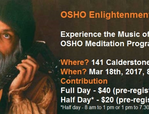 OSHO Enlightenment Day Celebration on Mar 18th, 2017