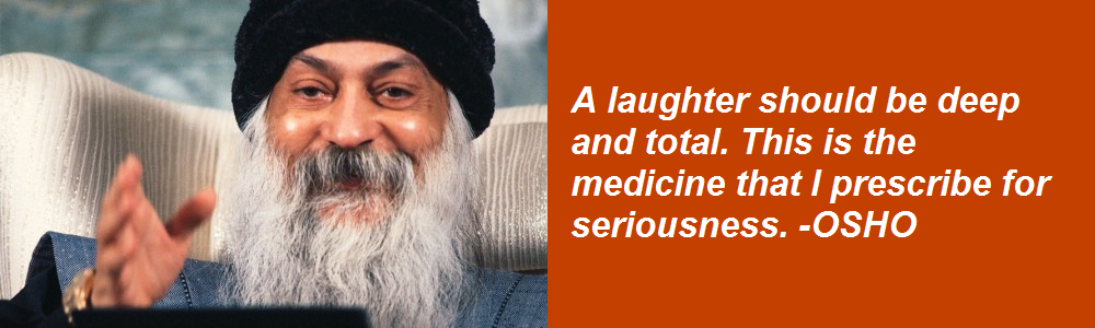 OSHO on laughter